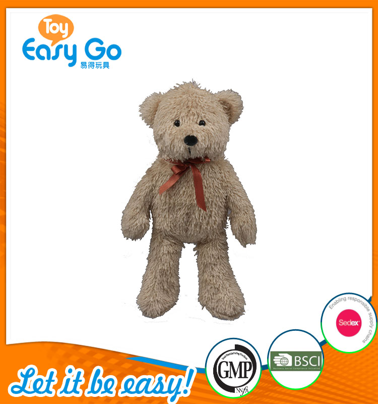 high quality customized production standing gray bear with r
